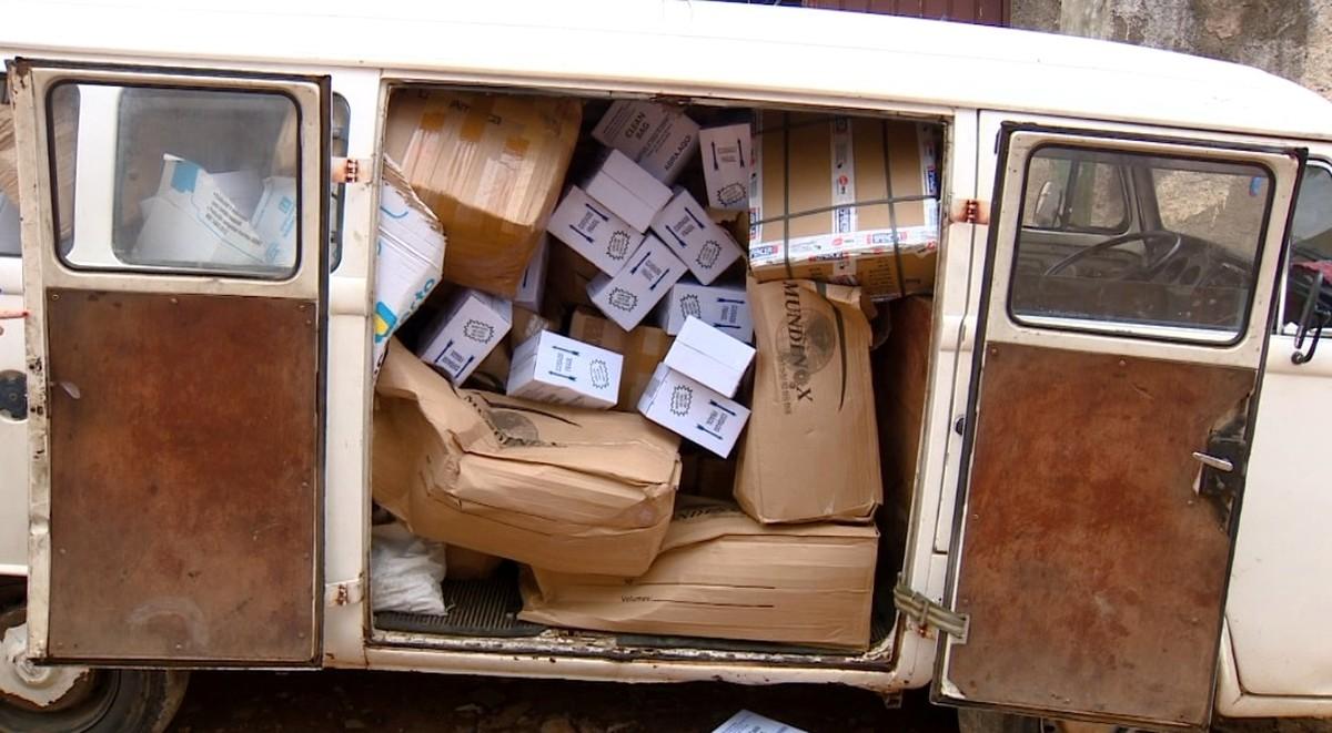 PM prende suspeitos de roubar cargas de alimentos e peças de motos em Campinas