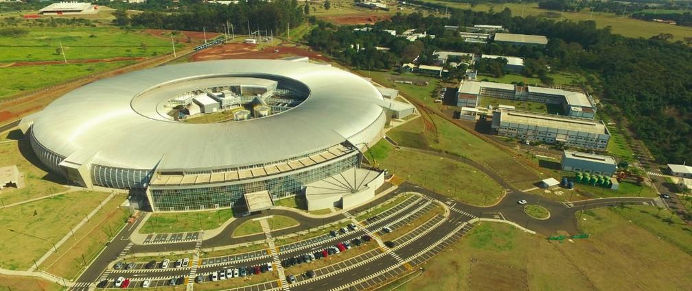 Sirius: maior estrutura científica do país, instalada em Campinas (SP). — Foto: CNPEM/Sirius/Divulgação