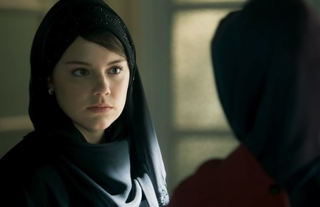 Na terça (23), Dalila (Alice Wegmann)  descobrirá que Aziz (Herson Capri) deseja que ela se case com Youssef e ficará desesperada Reprodução