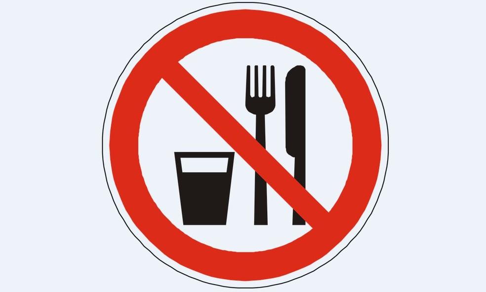 Proibido comer — Foto: Pixabay
