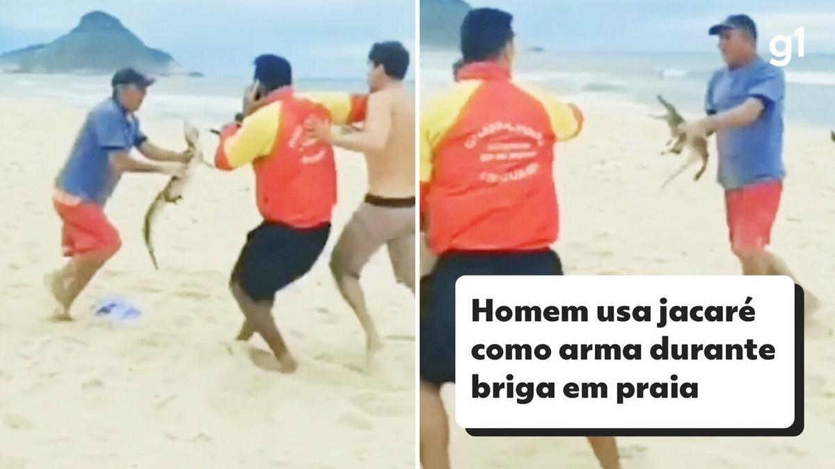 Paes brinca com 'ataque de jacaré': 'Para vocês que acham que é simples ser prefeito dessa cidade!'