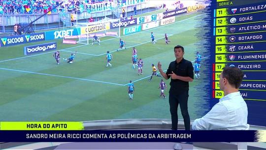 Sandro Ricci acha que árbitro errou ao marcar pênalti a favor do Flamengo