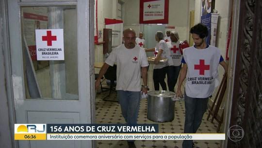 Cruz Vermelha faz aniversário e oferece serviços à população