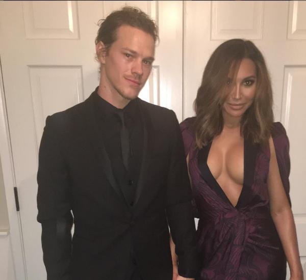 A atriz Naya Rivera e seu marido, o ator Ryan Dorsey (Foto: Instagram)