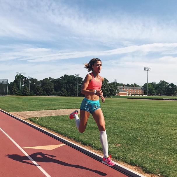 A atleta norte-americana Stephanie Garcia  (Foto: Instagram/Reprodução)