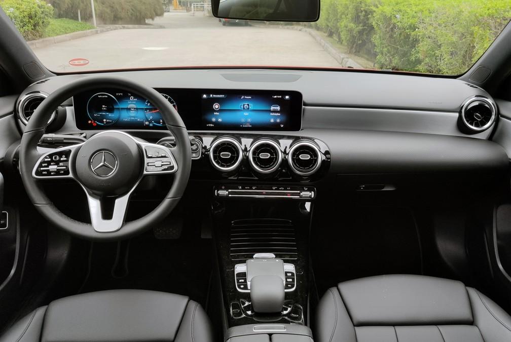 Mercedes-Benz Classe A Sedan — Foto: André Paixão/G1