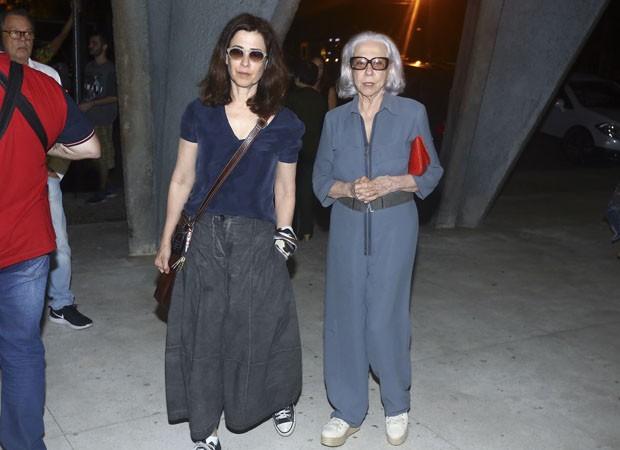 Fernanda Torres e Fernanda Montenegro  (Foto: Agnews)
