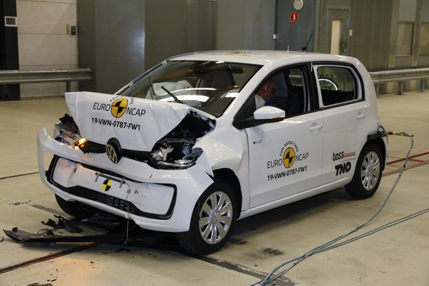 Volkswagen Up (Foto: Euro NCAP)