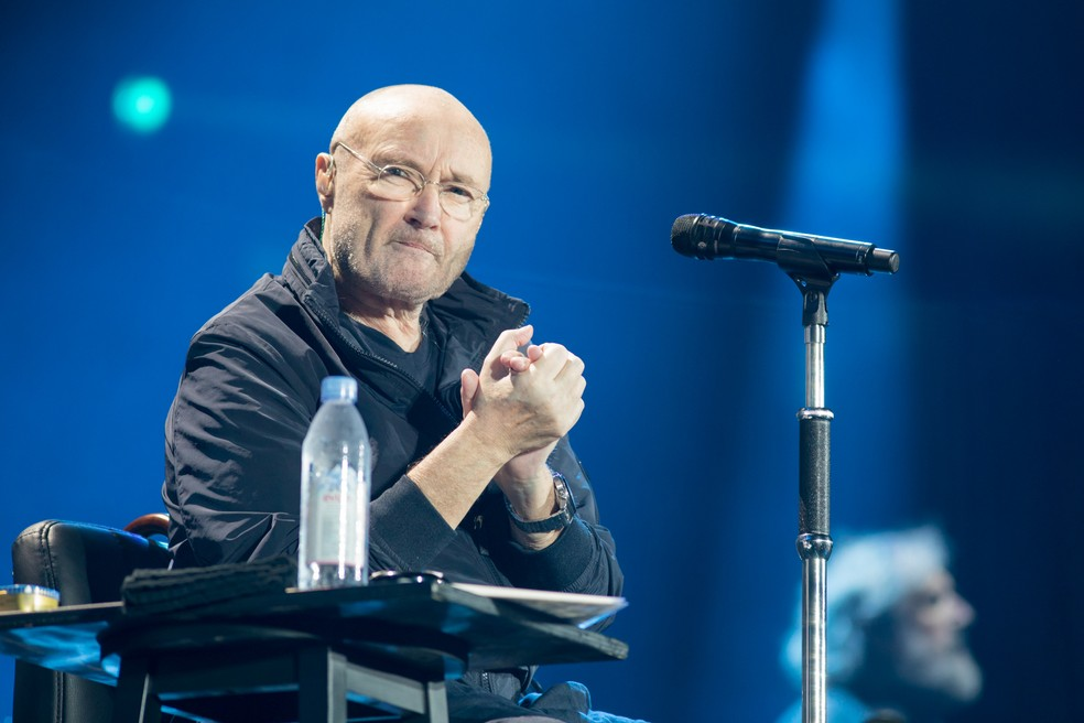Phil Collins foi o 'inventor' do Dia do Rock (Foto: Celso Tavares/G1)