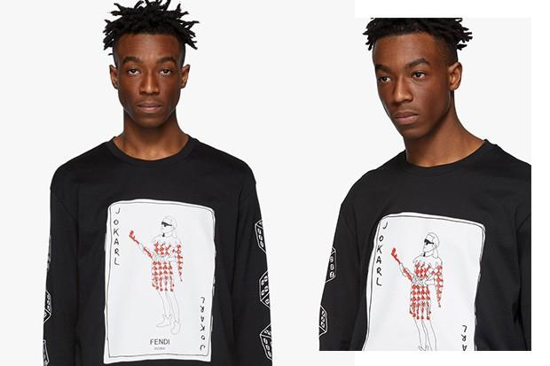 A camiseta traz o controverso ícone dandi retratado como um coringa na moda.  (Foto: divulgação)