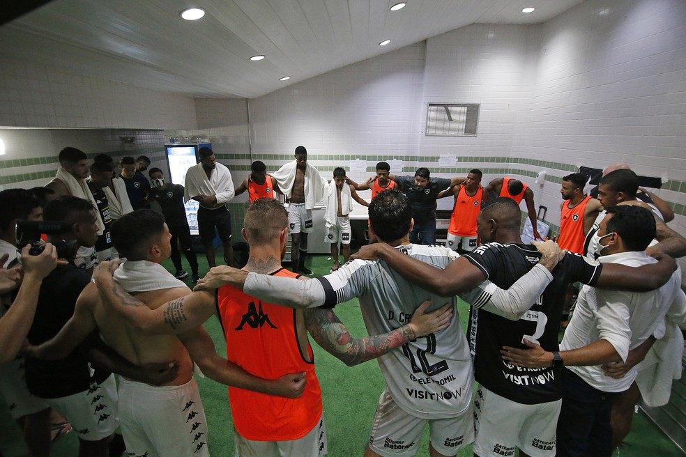 Time voltou a vencer após 10 rodadas — Foto: Vitor Silva/Botafogo