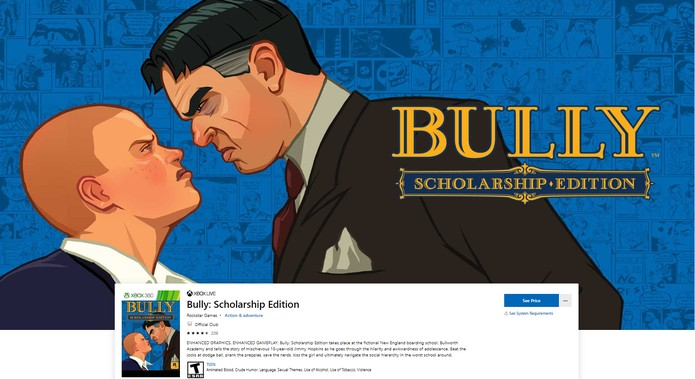 Como baixar Bully no PC e nos consoles Xbox One, PS4, Xbox