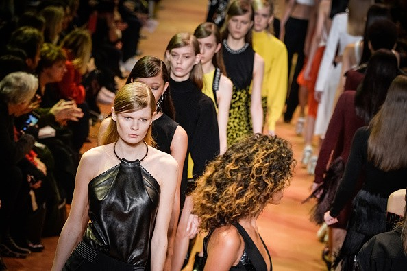 Mugler, inverno 2017 (Foto: Getty Images)