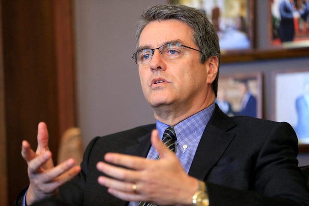 Roberto Azevêdo, diretor-geral da OMC, em imagem de arquivo. (Foto: Reuters)