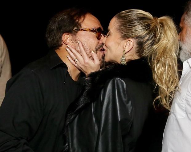 Danielle Winits e Wolf Maya (Foto: Manuela Scarpa/Brazil News)