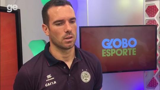 Com mais tempo de casa, Lucas Fonseca é referência para os mais jovens no Bahia