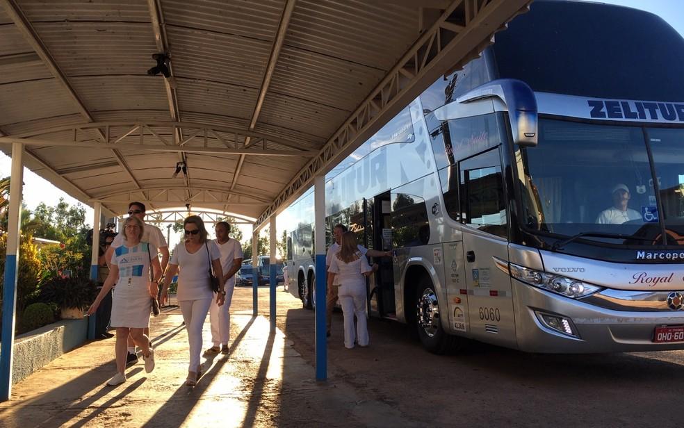 Turistas vão a Abadiânia à espera de atendimento de João de Deus ? Foto: Murillo Velasco/ G1