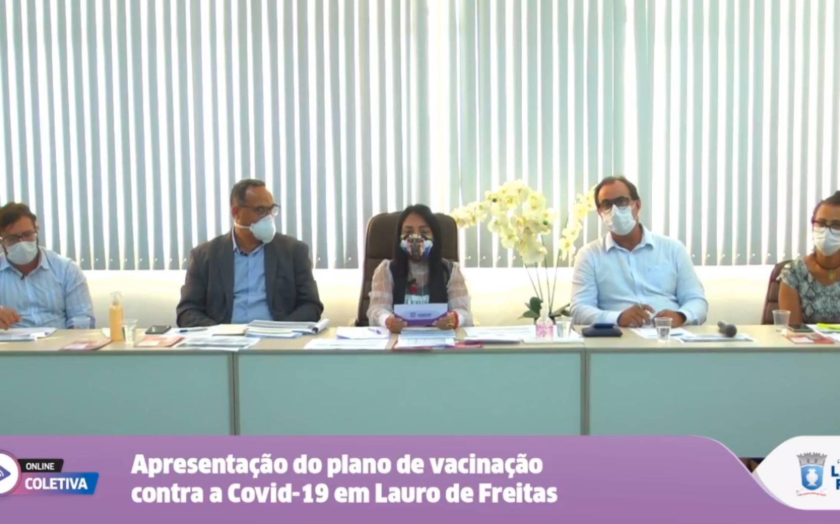 Lauro de Freitas vai receber mais de mil doses de Coronavac; público-alvo da 1ª etapa será profissionais de saúde e idosos em asilos