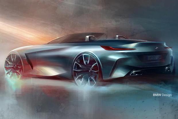 Painel do BMW Z4 2019 (Foto: divulgação)