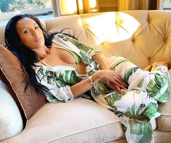 A modelo e empresária suíça Lisa Parigi (Foto: Instagram)