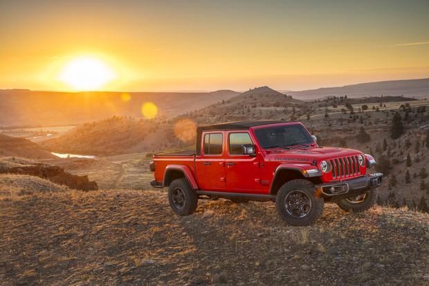 Jeep Gladiator (Foto: Divulgação)