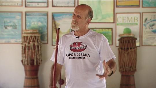 """""""Sensei"""" homenageia Mestre Camisa, fundador do Abadá Capoeira"""