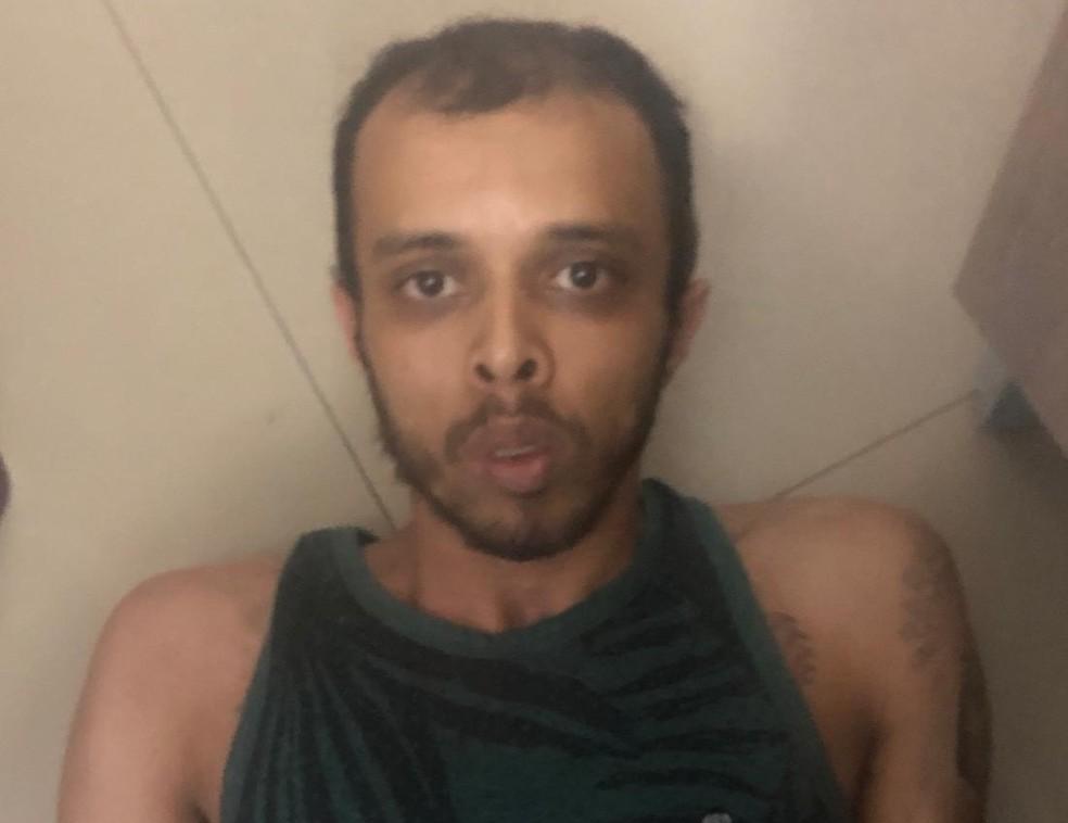 O traficante Diogo de Oliveira Campo, conhecido como 'Kiko' e procurado na Bahia por mais de 100 homicídios — Foto: Divulgação/DEIC/SBC