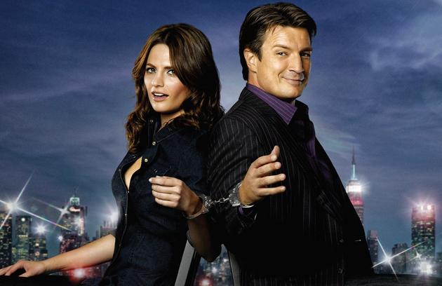 'Castle', segundo a atriz, é uma das poucas séries de comédia de que ela gosta. 'Acho o humor ácido' ' (Foto: Reprodução)
