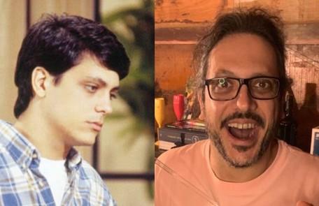 """Lúcio Mauro Filho, que viveu Mario em """"Bom sucesso', estreou na TV numa participação em 'A viagem', na pele de Caíto TV Globo"""