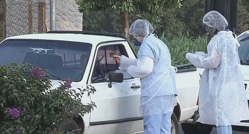 Com 1º caso em Florínea, coronavírus chega a todas as cidades do centro-oeste paulista — Foto: TV TEM/Reprodução