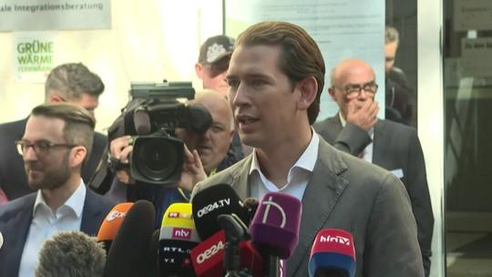 Conservador Sebastian Kurz vence eleições legislativas na Áustria com 37,2% dos votos