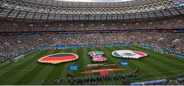 Alemanha x Mexico Copa do Mundo Russia (Foto: FMF)