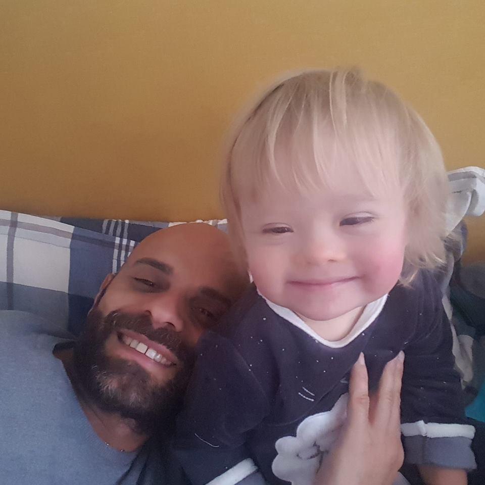 Pai e filha (Foto: Reprodução/ Facebook)