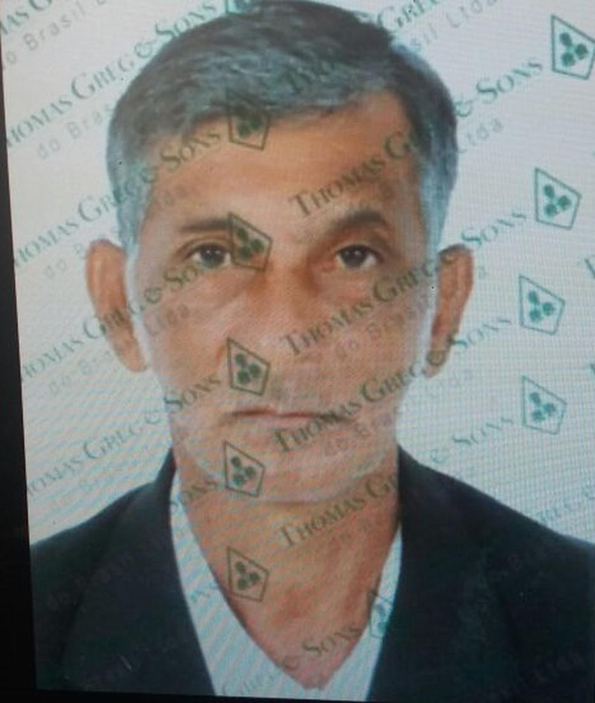 Antônio Lima Fidelis está preso em Colorado do Oeste (RO) — Foto: Polícia Civil/Divulgação