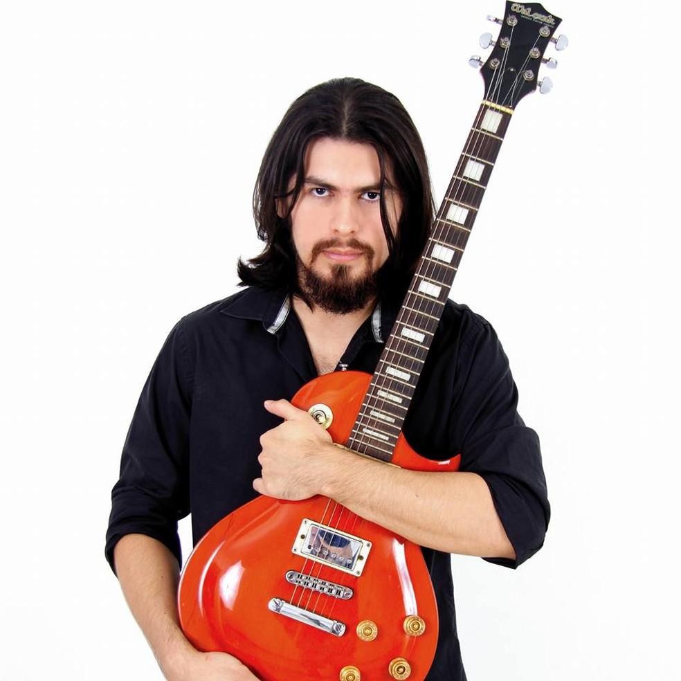 -  Festival comemora Dia Mundial do Rock e presta solidariedade ao guitarrista paraense músico e professor Júnior Saldanha.  Foto: Divulgação