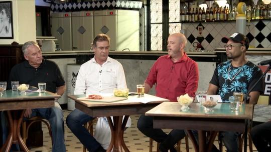 Boteco do Escobar recebe Sebastião Lazaroni, ex-goleiro Paulo Vítor e Buchecha