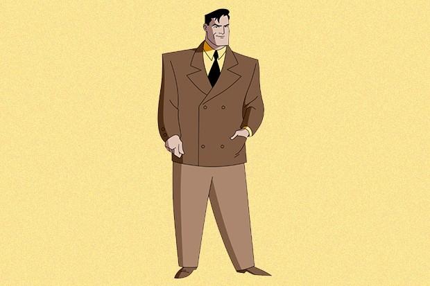 O personagem de série animada ficou marcado, além do estilo, pela voz grossa de seu dublador (Foto: divulgação)