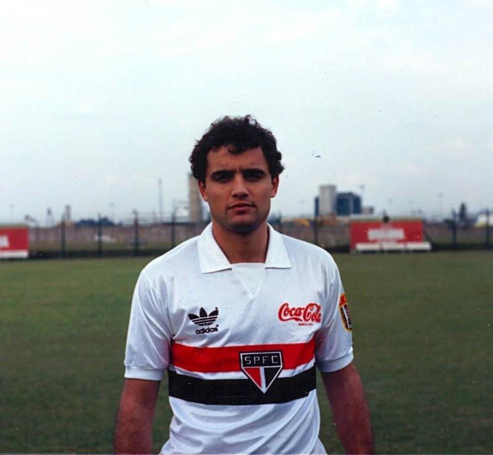 Diego Aguirre é o novo técnico do São Paulo (Foto: Arquivo Histórico/São Paulo FC)