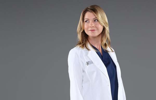 Ellen Pompeo na série Grey's Anatomy (Foto: Divulgação)