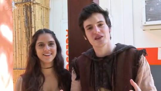 Giovanni de Lorenzi e Priscila Castello Branco comentam primeiro beijo de Ulisses e Teodora