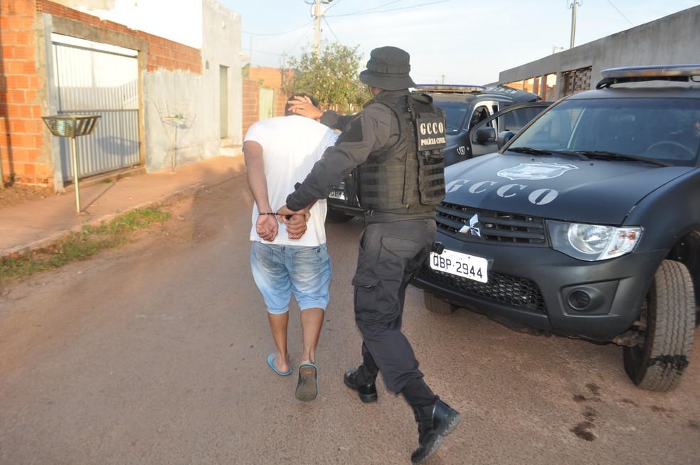 Operação Red Money (Foto: Polícia Civil de MT/Assessoria)