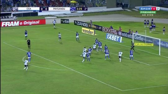 CSA x Paysandu - Campeonato Brasileiro Série B 2018 - globoesporte.com