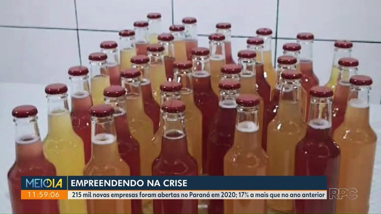 Mesmo com crise, Paraná registra aumento no número de novas empresas