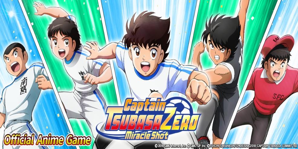 Captain Tsubasa ZERO Miracle Shot chega em breve — Foto: Divulgação/GMO Internet