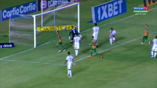 Sampaio Corrêa x Ponte Preta - Campeonato Brasileiro Série B 2018 - globoesporte.com