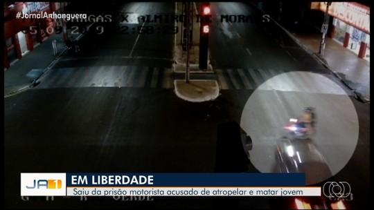 STJ decide soltar jovem preso suspeito de atropelar e matar garupa de moto durante racha, em Rio Verde