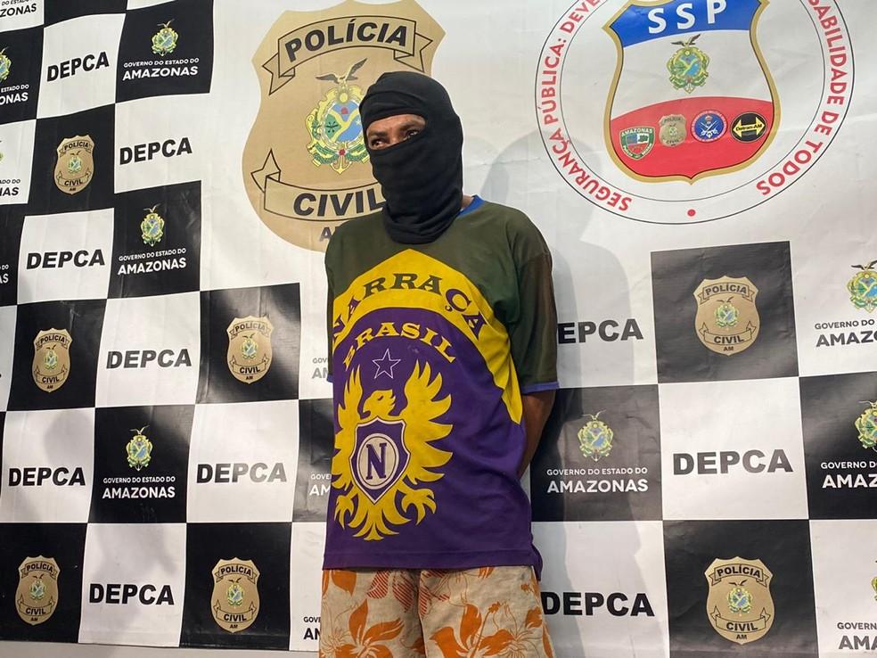 Padrasto teve prisão preventiva decretada durante investigação de abuso sexual e maus-tratos em Manaus — Foto: Carolina Diniz/G1AM