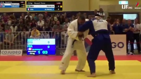 Nilo Carvalho perde na repescagem e fica em 7º lugar no Mundial de Veteranos de judô