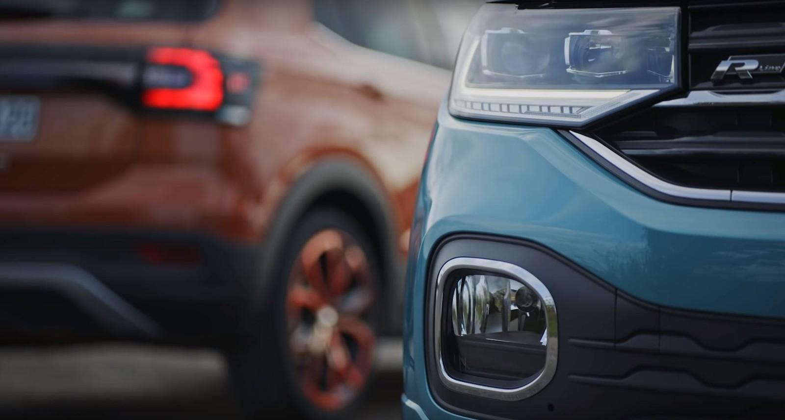 Volkswagen dá 'spoiler' e mostra detalhes do SUV compacto T-Cross Tcross2