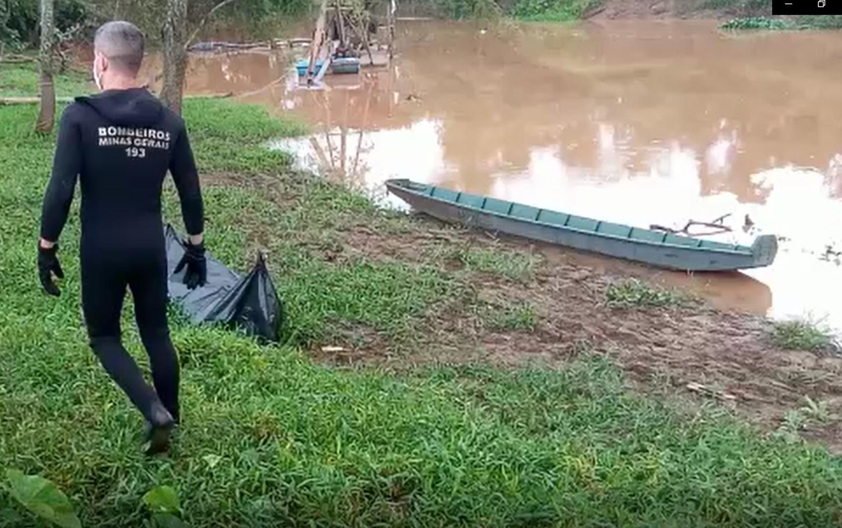 Corpo é encontrado boiando no Rio Sapucaí, em Piranguinho, MG